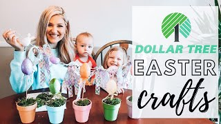 QUARANTINE CRAFT TIME WITH KIDS || 3 DIY DOLLAR TREE EASTER CRAFTS
