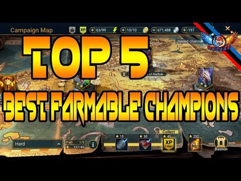 The Best Farmable Champion  Raid Shadow Legends - SirBigMart K