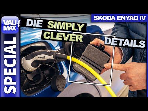 Simply Clever Details im Skoda ENYAQ iV – Ladelösung