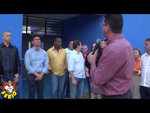 Autoridades na Inauguração da Creche Sagrada Família no Bairro dos Carolinos em São Lourenço da Serra