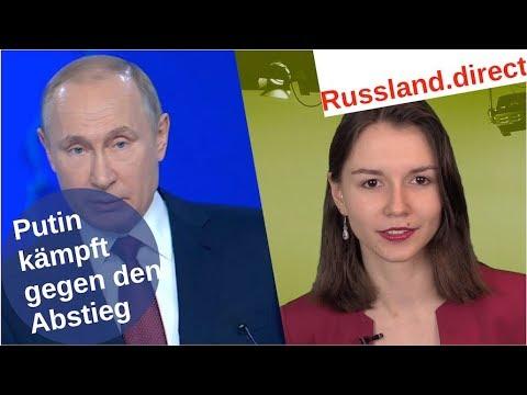 Putins Kampf gegen den Abstieg [Video]