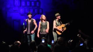 Brandi Carlile sings What Can I Say acoustic