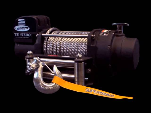 Superwinch Tiger Shark TS11500 Winch - 11500lbs/12V on