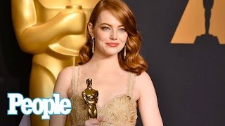 How Emma Stone's Reaction To The Oscar Mishap Took The Internet By Storm | People NOW | People