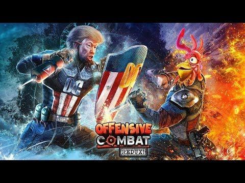 Offensive Combat Redux! – Robôs, Estilo e Adrenalina!!