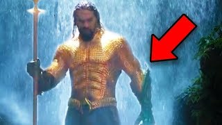 AQUAMAN Trailer Breakdown! Easter Eggs & Details You Missed! #NYCC