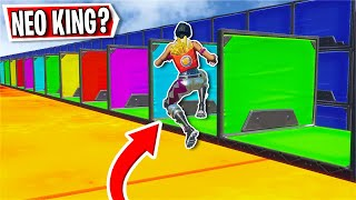 Can i beat the Neo King Deathrun?... *New Neos* (Fortnite Creative)