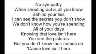 Red - Daniel Merriweather (Lyrics)