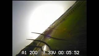 UMX Turbo Timber baseball field FPV flight #2