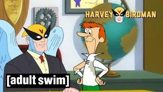 Harvey Meets the Jetsons | Harvey Birdman, Attorney at Law | Adult Swim