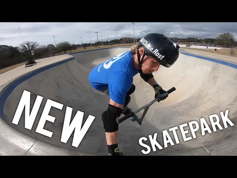 SCOOTERING AT A NEW SKATEPARK | FORT WALTON BEACH
