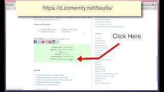 Bealls credit card Payment through Comenity - MyBillCom.com
