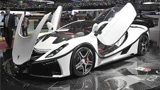 GTA Spano - Salón de Ginebra 2015 coches.net - Geneva International Motor Show