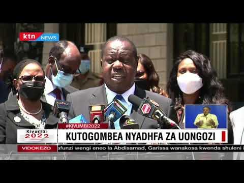 Fred Matiang'i atoa ombi kwa IEBC kuwazuia wanasiasa wanaojihusisha na vurugu kwenye kampeni zao