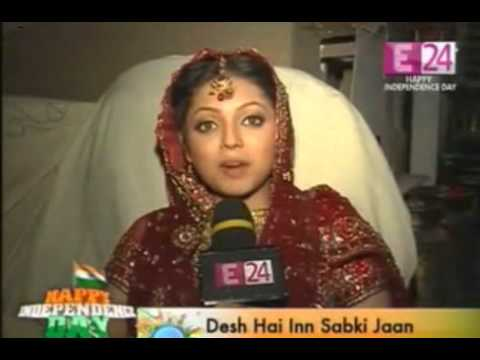 E24 - 15th Agust 2012 - Drashti Dhami on Independence Day Special