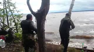 Ловля сома на воткинском водохранилище