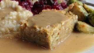 Cracker Dressing & Stuffing Recipe — Old Fashioned Cracker Stuffing/Dressing for the Holidays