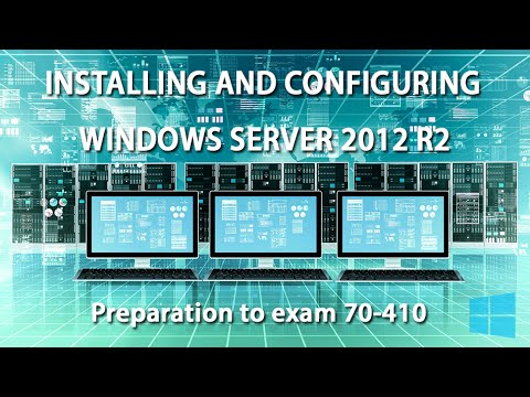 Server roles and features - Windows Server 2012 R2 training (70 ...