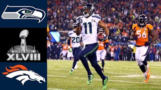 Seahawks vs Broncos Super Bowl XLVIII