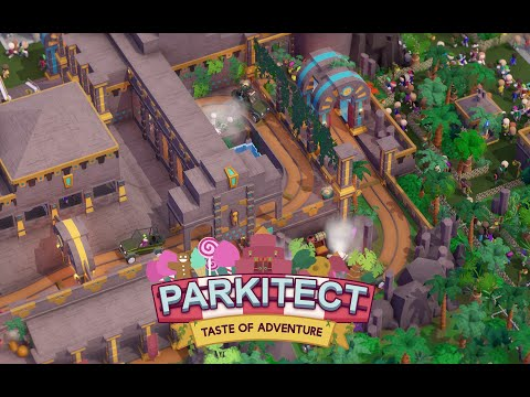 Announcing Parkitect: Taste of Adventure
