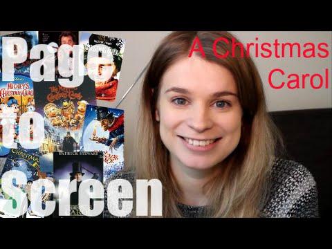 Page to Screen | A Christmas Carol!