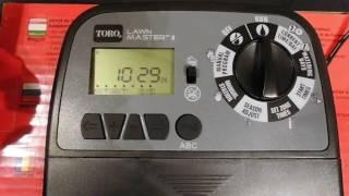 Videoguida programmatore centralina Toro Lawn Master II
