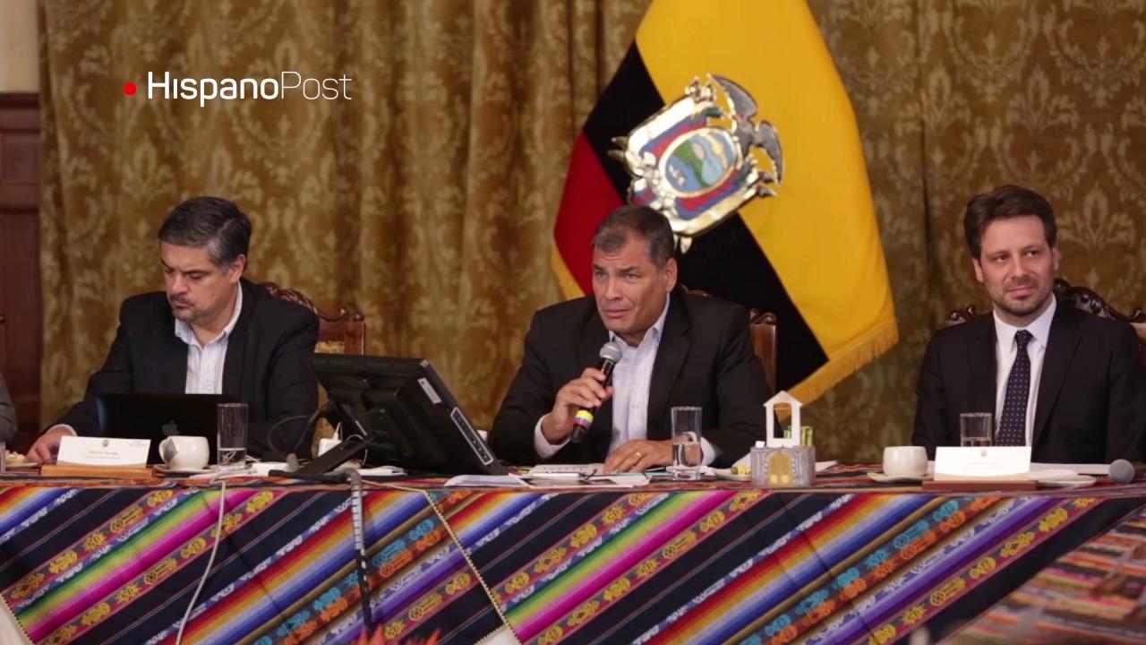 Correa podría presentarse como candidato en 2018 si Lasso gana segunda vuelta