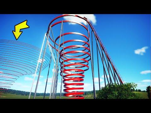 I built the worlds biggest MEGA TWISTER in Planet Coaster