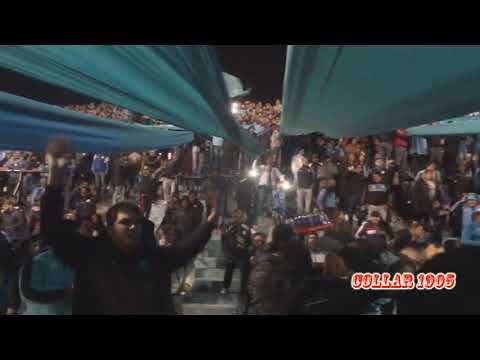 """""""CON ESTA HINCHADA LOCAAAA"""" Barra: Los Piratas Celestes de Alberdi • Club: Belgrano"""