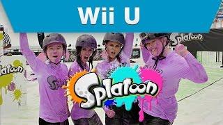 Wii U - Splatoon Mess Fest 'Ink'-sclusive Event Video
