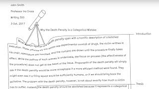 What's Wrong With The Five Paragraph Essay And How To Write Organically  (Animated Video)