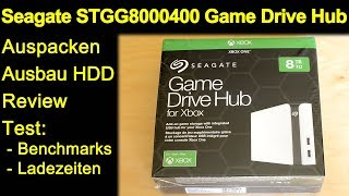 Seagate STGG8000400 Game Drive Hub 8TB OHNE Xbox - Tests Benchmarks PC Gehäuse öffnen und Ausbau