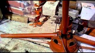 самодельный кран для стройки
