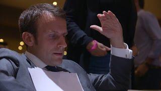 """REPETITION DU DISCOURS FONDATEUR - EXTRAIT DE """"EMMANUEL MACRON, LA STRATEGIE DU METEORE"""""""