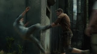 Gally Stops Thomas From Leaving The Maze [Maze Runner]