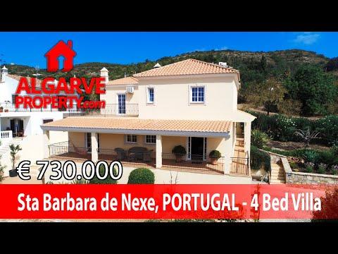 Santa Barbara De Nexe - Villa de 4 chambres avec une fantastique vue panoramique