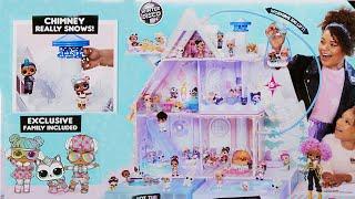 ДОМИК для кукол ЛОЛ СЮРПРИЗ! Играем с куклами ОМГ Игрушки Серии Winter Disco CHALET НОВИНКА