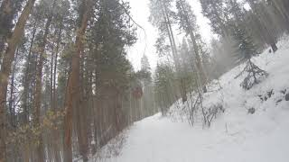 Sun Dog's Blog: 1st snow ride on the FAT BIKE & a few tips for you!