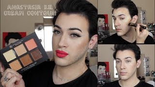 Anastasia Beverly Hills Cream Contour Kit Review/ Demo! | MannyMua