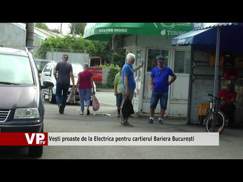 Vești proaste de la Electrica pentru cartierul Bariera București