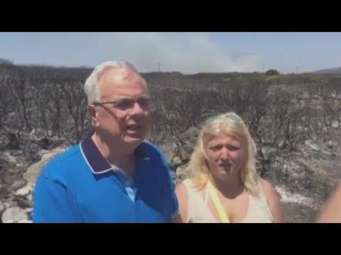 Β. Αποστόλου: Όλος ο κρατικός μηχανισμός πυρόσβεσης στη μάχη με τη φωτιά στα Κύθηρα