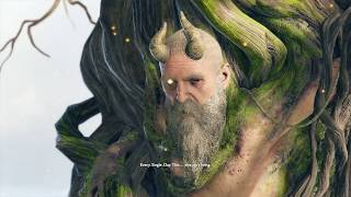 God of War 4 - Meeting Mimir Cutscene (GoW 4 2018) PS4 Pro
