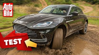 [AUTO BILD] Aston Martin DBX (2020): Test - Fahrbericht - SUV - Motor - Info