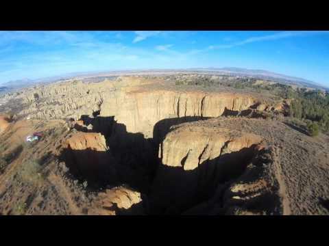 Badlands: mirador de Purullena