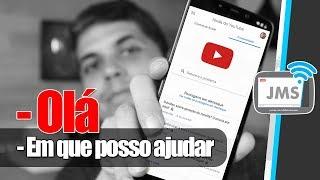 Um novo jeito de ENTRAR EM CONTATO DIRETO com o YouTube - CanalJMS
