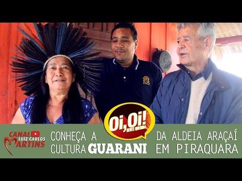 Conheça a cultura Guarani da aldeia Araçaí em Piraquara