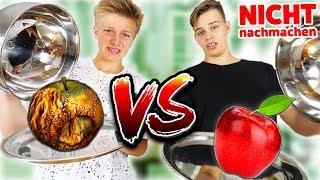 NICHT NACHMACHEN! Real Food vs. Gammel Food Challenge! TipTapTube