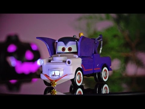Disney CARS Toys Halloween Dracula Mater SERIES 1