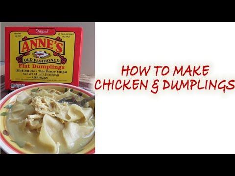 chicken and dumplings recipe| best chicken and dumplings