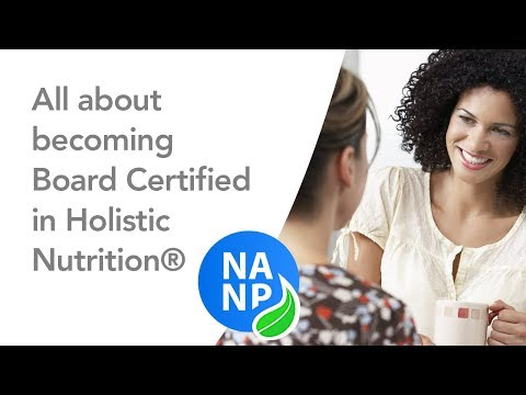 Becoming Board Certified in Holistic Nutrition® - YouTube